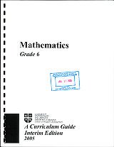 Mathematics - Grade 6