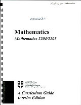 Mathematics - Mathematics 2204-2205