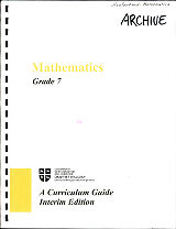 Mathematics - Grade 7