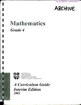 Mathematics - Grade 4