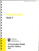 Mathematics - Grade 9