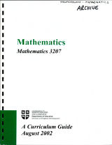 Mathematics 3207 : a curriculum guide