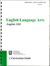 English language arts: English 1202