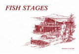 Fish stages : in the New World, fish were processed in large sheds built out over the water, known as