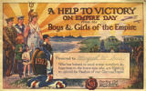 A help to victory on Empire Day from the boys & girls of the Empire