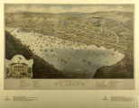 Panoramic view of St. John's, Newfoundland, 1879