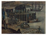 Postcard - Newfoundland Cod Fishery (early 18th century)