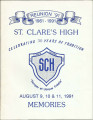 St. Claire's High Reunion 1961-1991