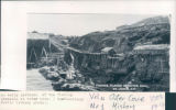 An early postcard of the fishing premises at Outer Cove