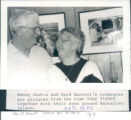 Among Jackie and Enid Barrett's treasures are pictures from the time they fished together with...
