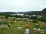 Placentia from the graveyard