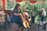 Christina Smith, Jean Hewson at The Vancouver Folk Festival