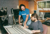 Don Walsh and Neil Bishop at Dadyeen Studios (187 University Ave)