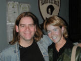 Andrea Poeschl and Alan Doyle from Great Big Sea