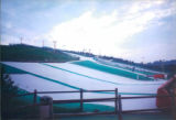 Ski 2000, a dry ski slope in Cassell, outside Nottingham. We did a gig there and had a great time...