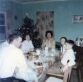 Family Christmas Dinner in Jerseyside (Charlie Walsh, Vince Walsh, Shirley Walsh, Monica Walsh,...