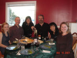 Peggy Newhook, Linda Keefe, Vince Walsh, Joyce Tom, Don Walsh, June Tom and Nadine Hollett