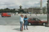 Gerry Squires, Gail Squires, Sheila Lynch in Paris