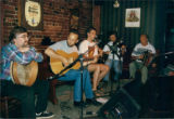 Snotty Var CD launch at O'Reilly's: Rick West, Rob Brown, John Bishop, Patrick Moran, Frank Maher