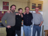 The Walsh boys, Don Walsh, David Walsh, Des Walsh and Vince Walsh