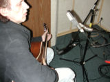 Ron Hynes in the studio at Tunis Court