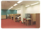 14 Study cubicles in the Medical Library
