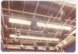 20 Overhead lighting gantry in photograph studio