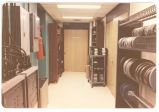 17 16 mm film storage in entrance area to still photo lab (door straight ahead) and entrance to...