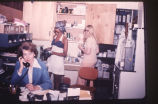 42 (L-R) Ms. Joan Morgan (secretary), Ms. Gladys Chaulker and Ms. Colleen Colman, Family Practice...