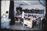 18 A research laboratory showing an electronmicroscope