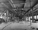 194 4th. floor centre section showing plumbing and ventilation rough-in to patient room area.  The...