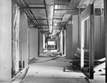 195 4th. floor north wing showing partitions ready for medical gas and electrical rough-in. Note...