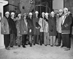 210 Photograph of representatives from the Health Facilities Design (Health and Welfare Canada)