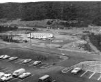 243 Photo taken Sept. 14, 1976, showing Heliport on north side of building