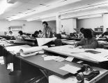 080 Technical production area for Newfoundland Architects' Consortium, K-Mart Plaza, Topsail Road,...