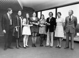 167 Presentation of certificates to four family practice nurses. Photo taken 18 May 74 in the...