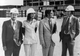 184 Site visit on September 16, 1974, the Minister of Public Works,  British Columbia, the...