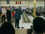 Bowling tournament opening ceremony