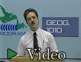 Geography 1010 - Lecture No. 33: Geographical information system (GIS)