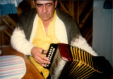 "Mike Benoit playing the ""Mummer's Song"" on the accordeon"