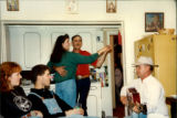 Party at Émile Benoit's house. Music by Jerry Benoit. Lorrie dances with Gordon Benoit. Tanya...
