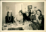 372. Unidentified People at Christmas Party