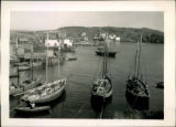 196. Grand Bruit: View of Community and Schooners