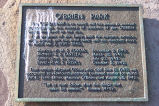Plaque at beginning of Battery Road for O'Brien Park