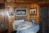 Room in Bruce Peters' B&B with nautical imagery hanging on wall