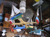 Charlie Pearcey's Twine Store, boat mobile