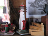 Charlie Pearcey's Twine Store, lighthouse