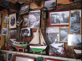 Charlie Pearcey's Twine Store, photographs and model ships