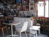 Charlie Pearcey's Twine Store, kitchen interior