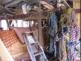 Bruce Peters' shed interior
